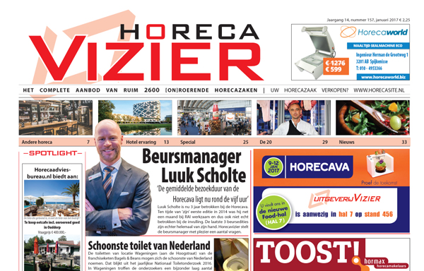 Horecavizier Januari 2017