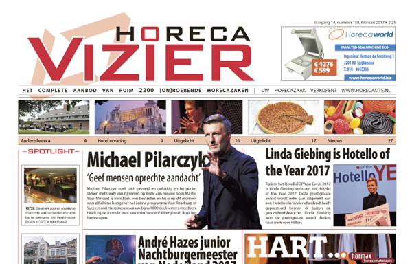Horecavizier Februari 2017